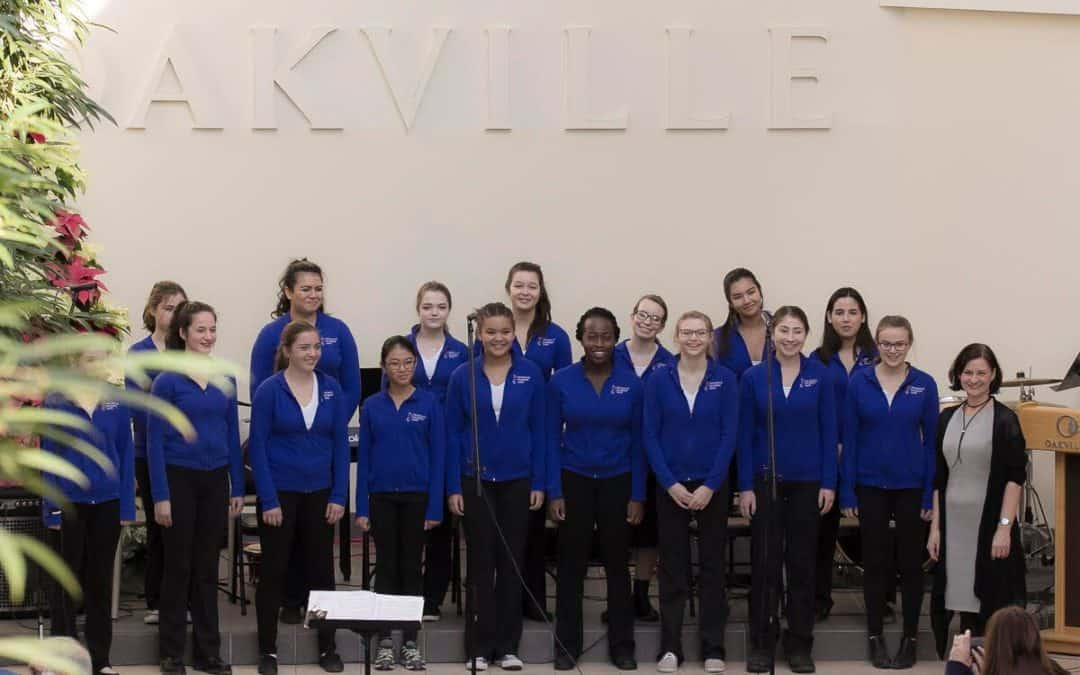 Raise Her Voice Sings at Oakville Mayor and Council's Levee